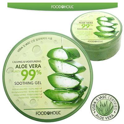 Gel dưỡng da Foodaholic 99% Aloe Vera Soothing Gel VKQ59697