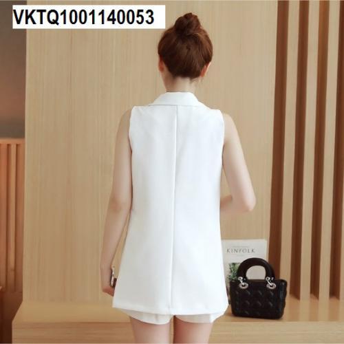 Áo gile vest dáng dài VKTQ1001140053