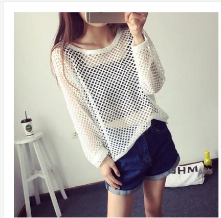 áo lưới dài tay cho nữ - VKMH10130070
