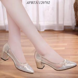 Giày cao gót gót vuông - APBT31120702