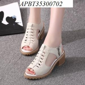 sandal gót vuông - APBT35300702