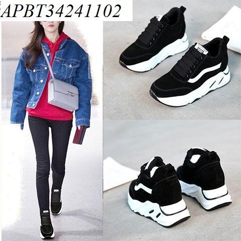Giày thể thao nữ độn đế - APBT34241102