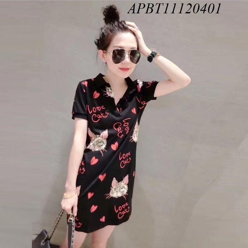 Váy mèo cổ polo - APBT11120401