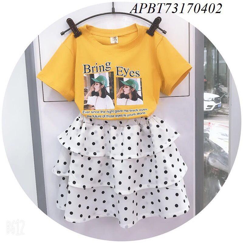 Váy chấm bi cho bé gái - APBT73170402