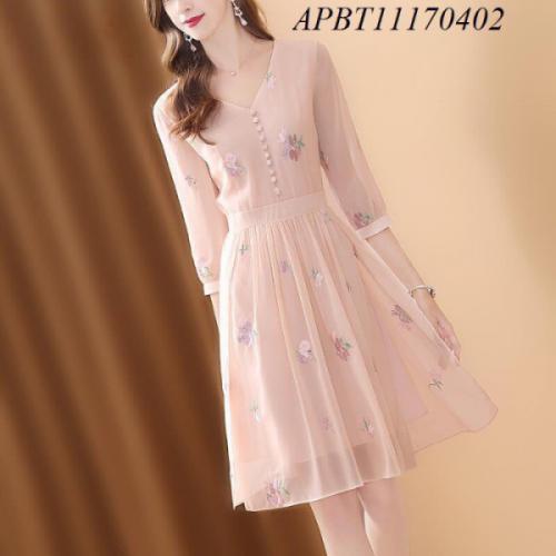 Đầm voan hoa  - APBT11170402