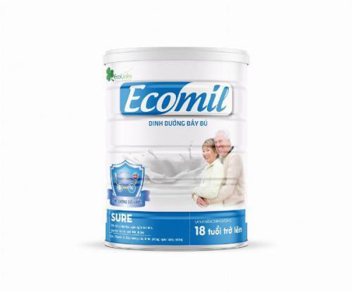 Sữa Ecomil Sure 900gr